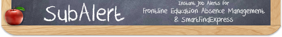 Instant Job Alerts for Frontline Education Absence Management® & SmartFindExpress®